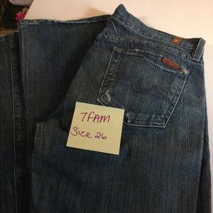 7FAM jeans